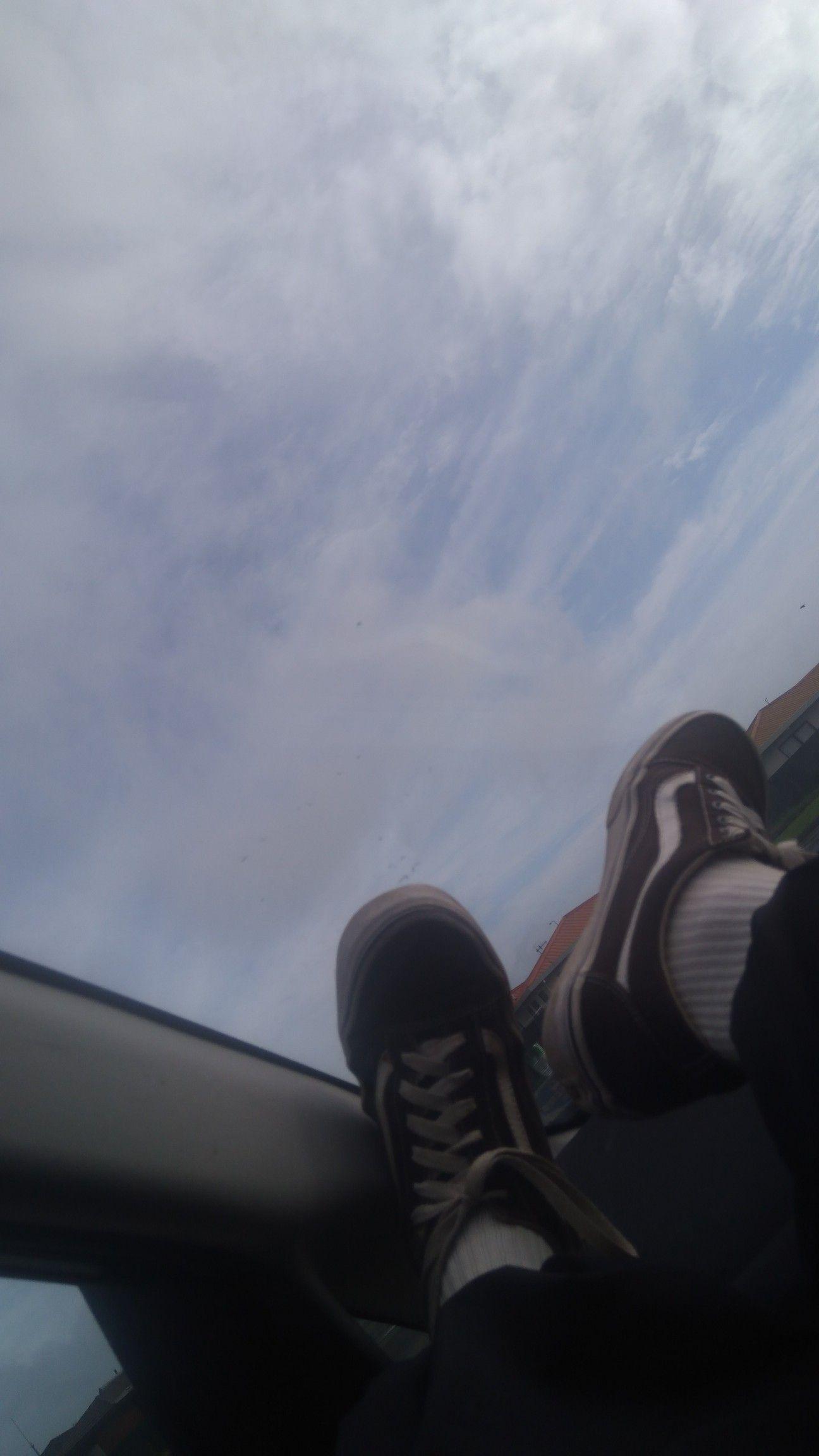 Just a van day Sky car, Van, Vans