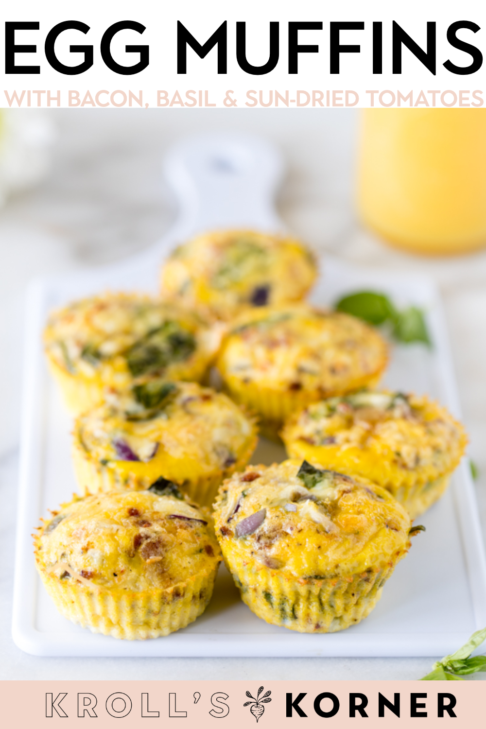 Bacon, Basil, Sun-Dried Tomato Muffins images