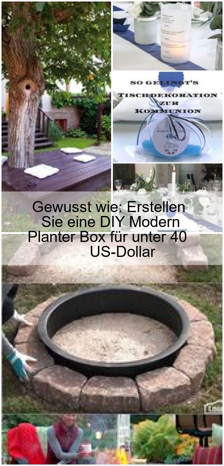 Gewusst wie Erstellen Sie eine DIY Modern Planter Box für unter 40 USDollar Gewusst wie Erstellen Sie eine DIY Modern Planter Box für unter 40 USDollar