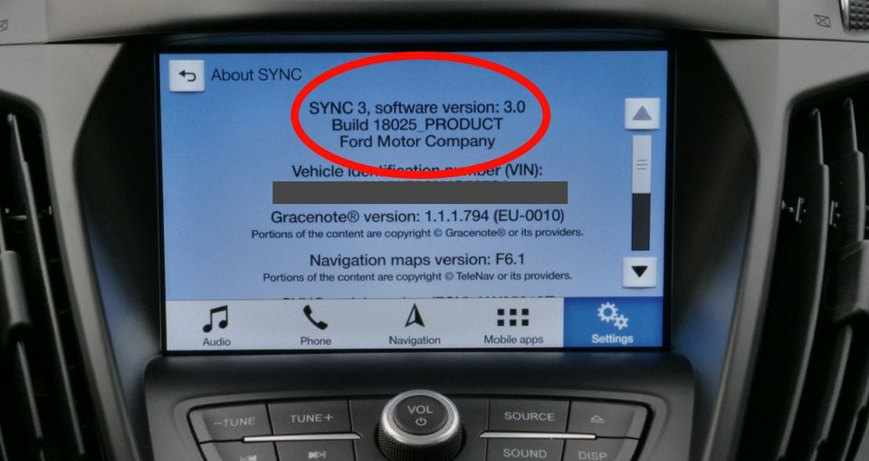 Ford sync 3 latest version in 2020 ford sync sync