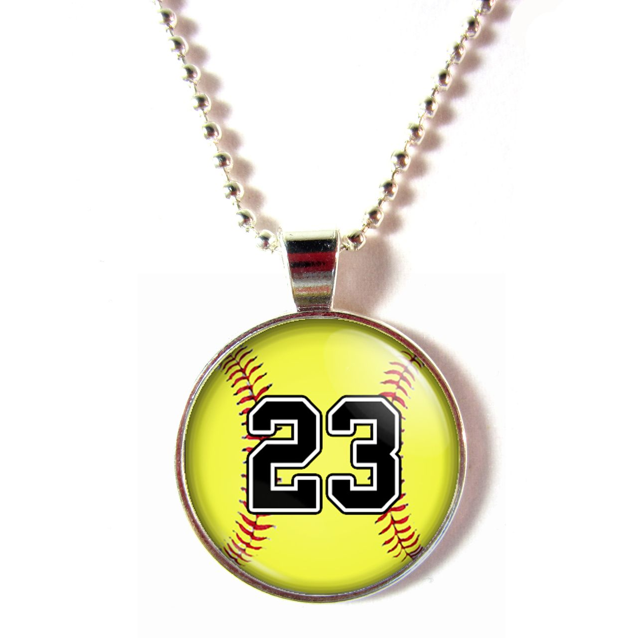 fundraising necklace wholesale i necklaces jewelry softball love closeup n spba team