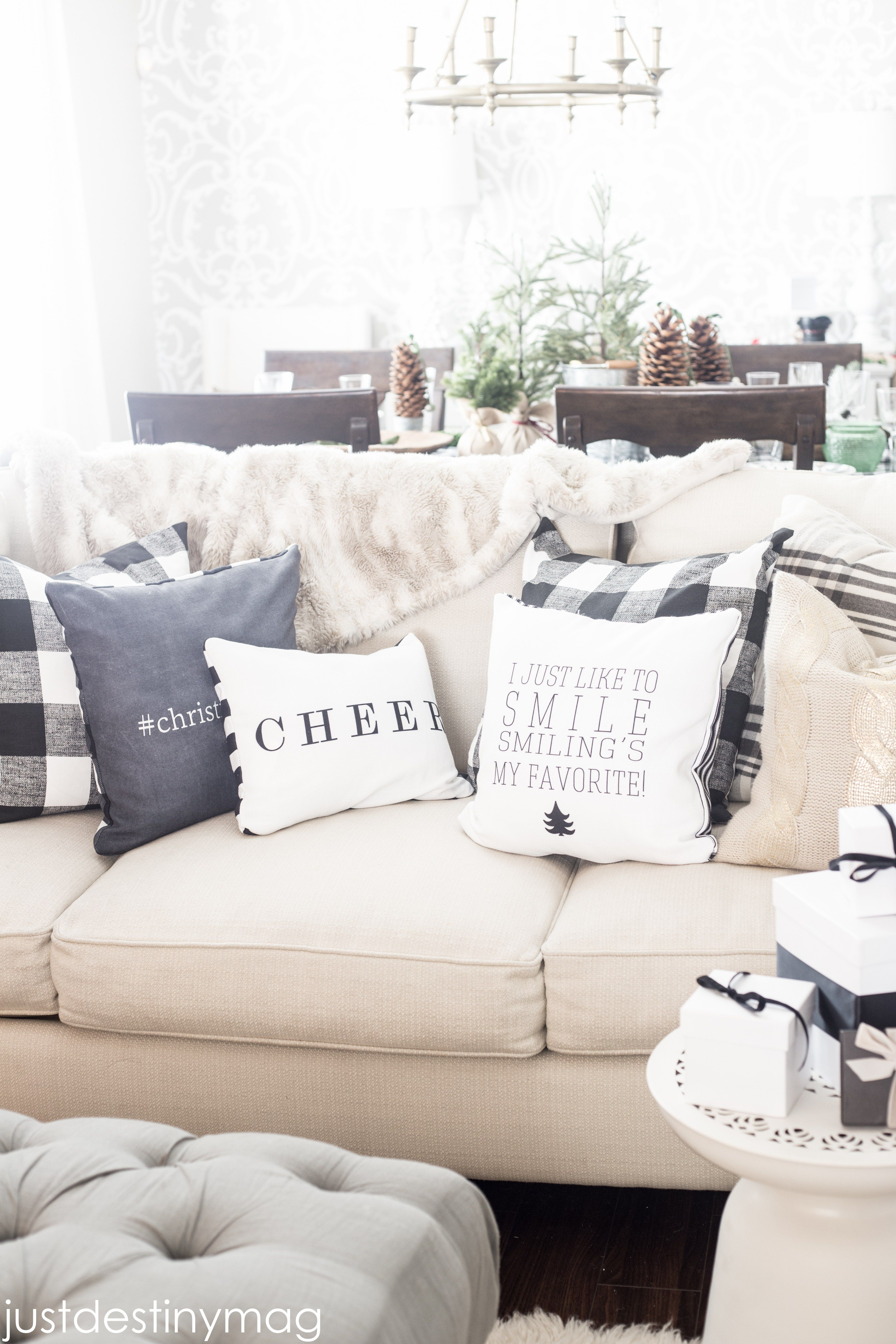 Shutterfly Pillows and Home Decor-3 | I\'ll Be Home For Christmas ...