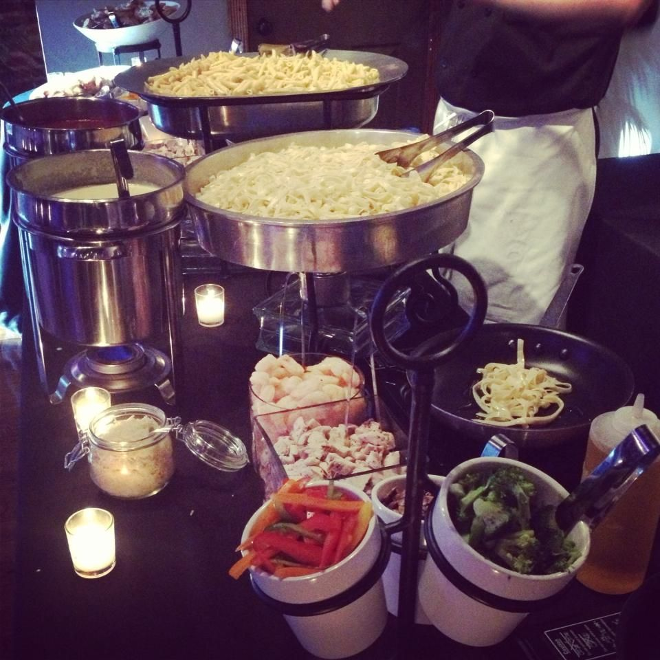 Wedding Food Stations Menu: Pick A Pasta, A Sauce And