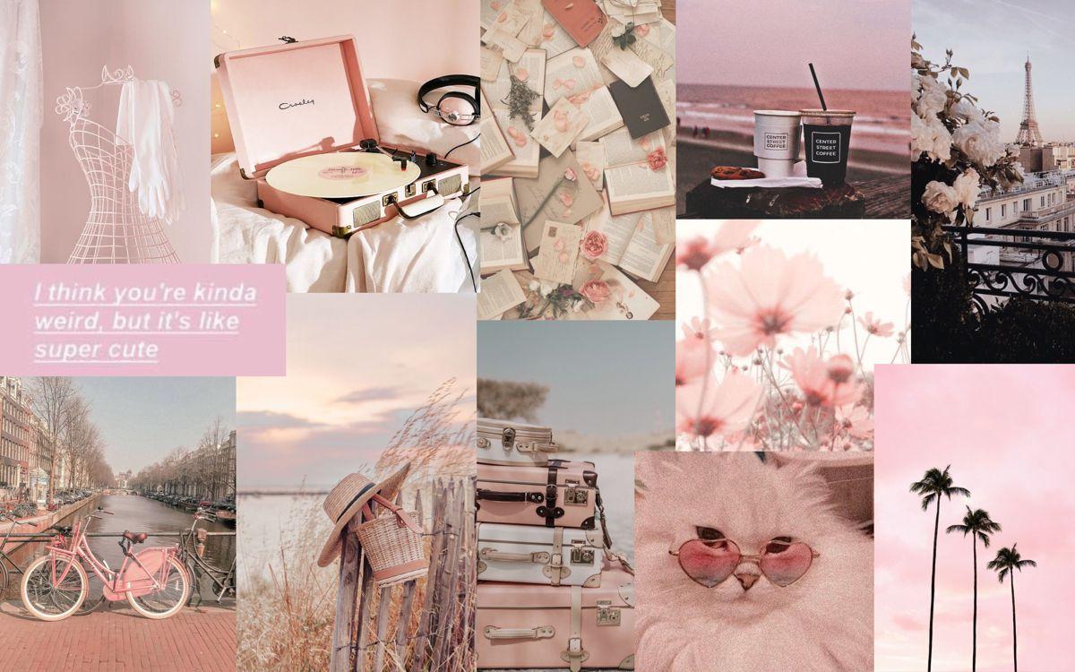 Aesthetic Pastel Pink Desktop Wallpaper Art Aesthetic Desktop Wallpaper Laptop Wallpaper Desktop Wallpapers