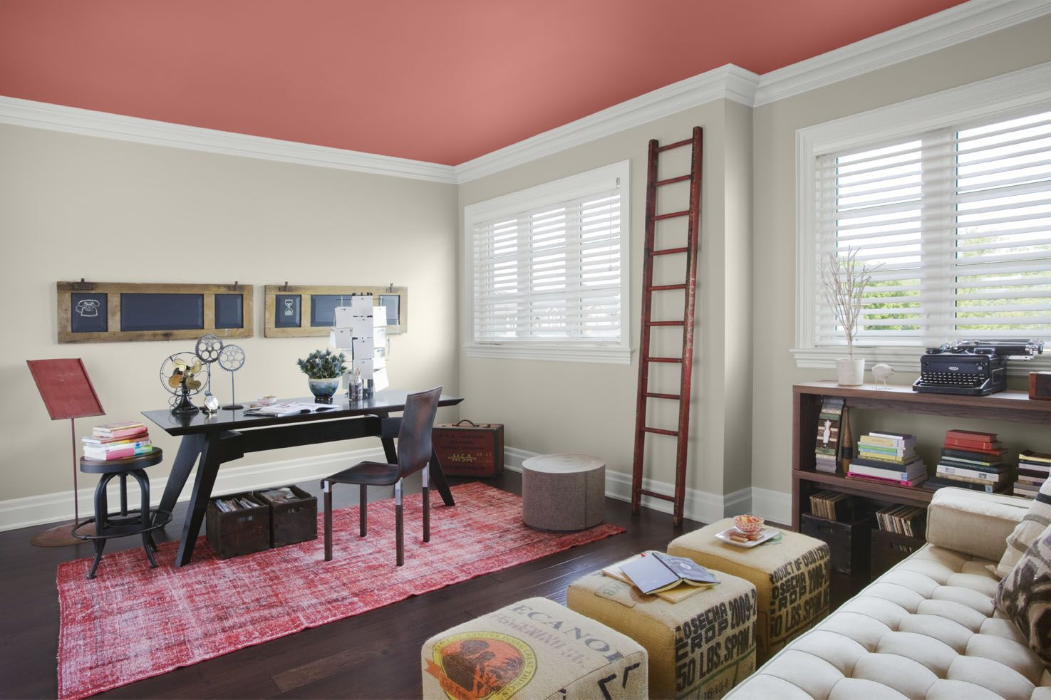 home office wall color 1000 images about living in color paint color examples on pinterest farrow best office wall colors