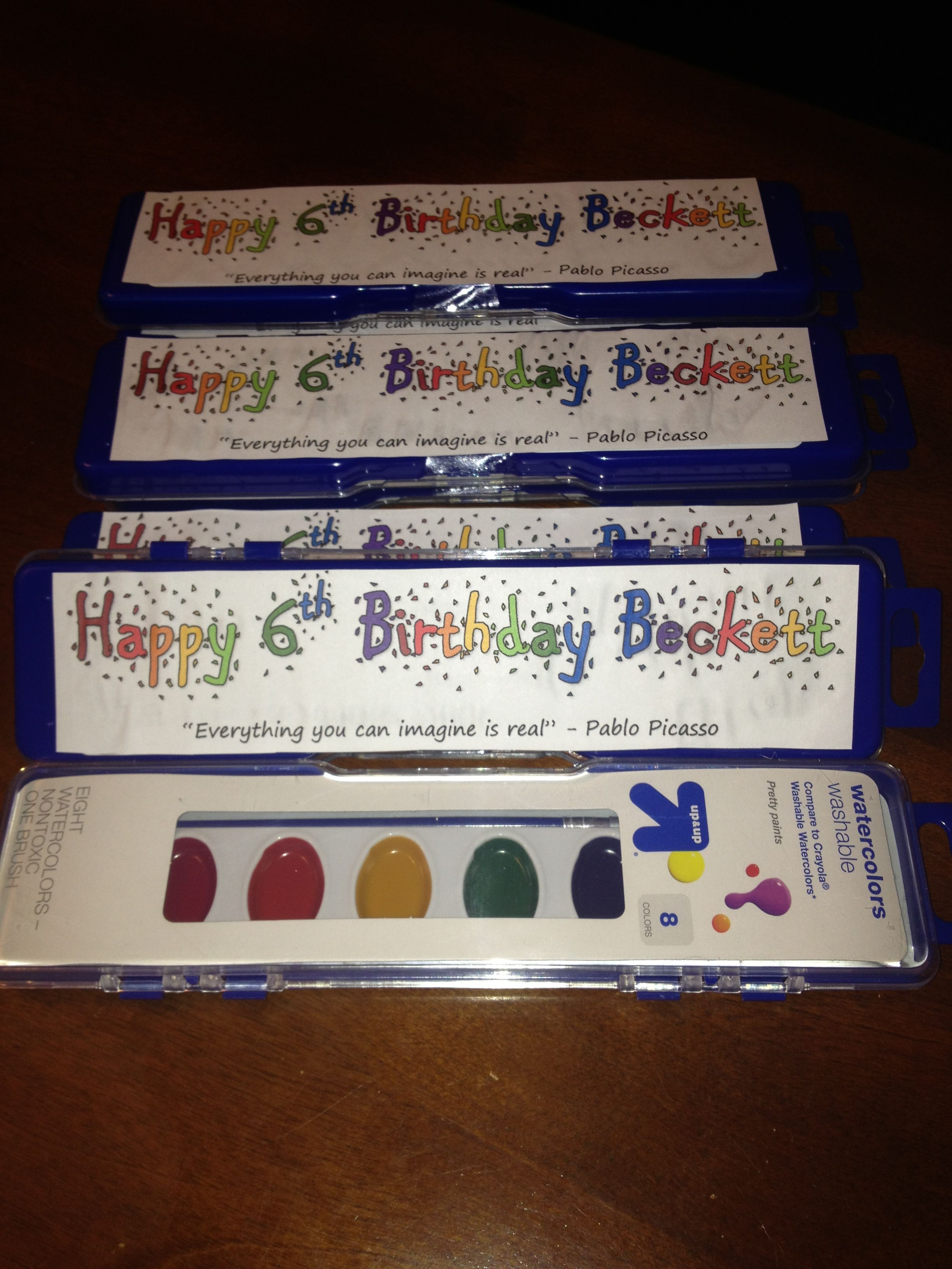 Birthday Party Treats For The Classroom Loved Sending Kids Home With Something Useful Classroom Birthday Treats School Birthday Favors School Birthday Treats