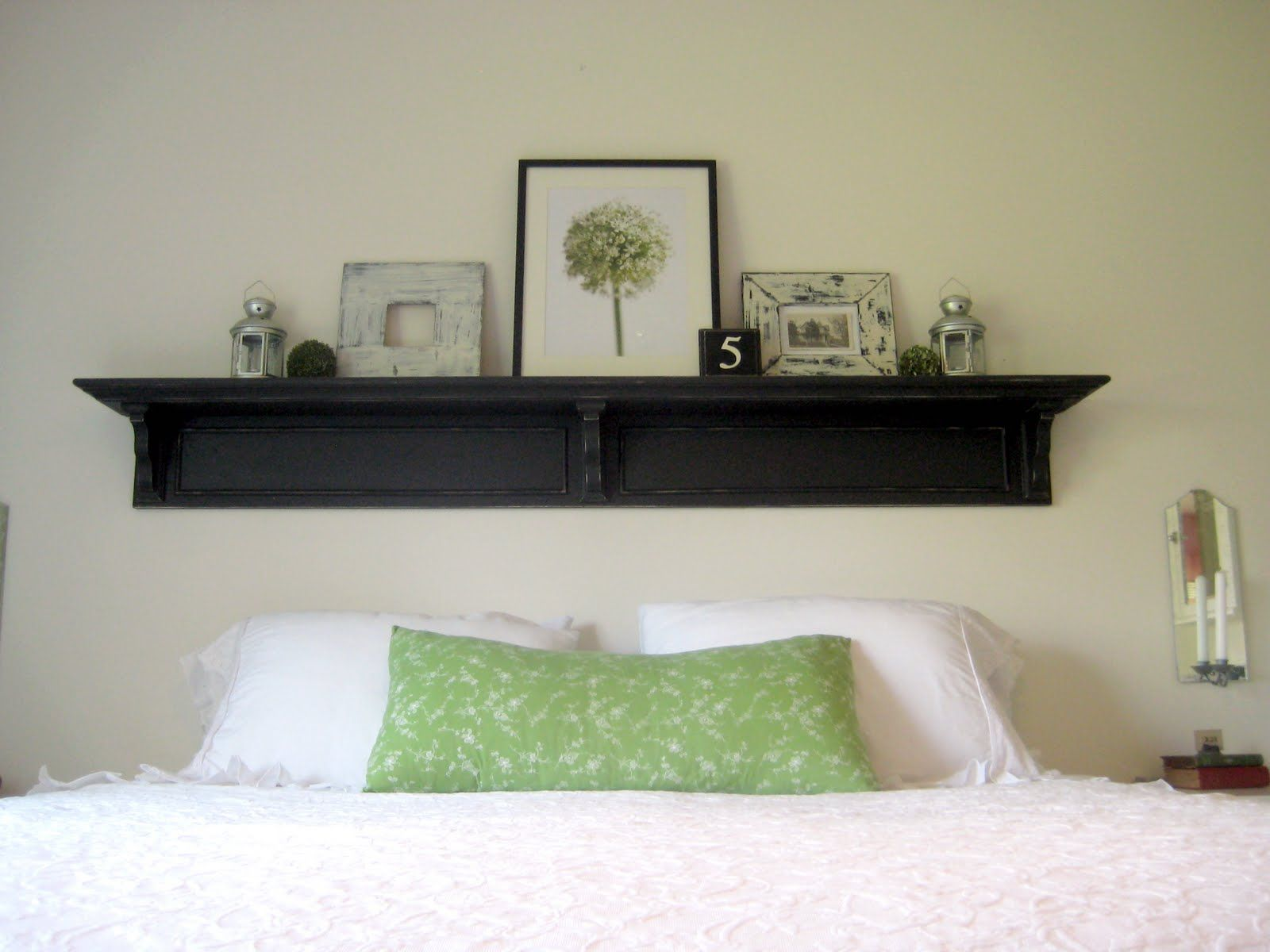 Superior Shelf Headboard Ideas Part - 6: I Am So Excited To Show You My Latest Project. A Headboard Shelf. When We  Purchased A King Size Bed Three Years Ago I Just Couldnu0027t Brin.