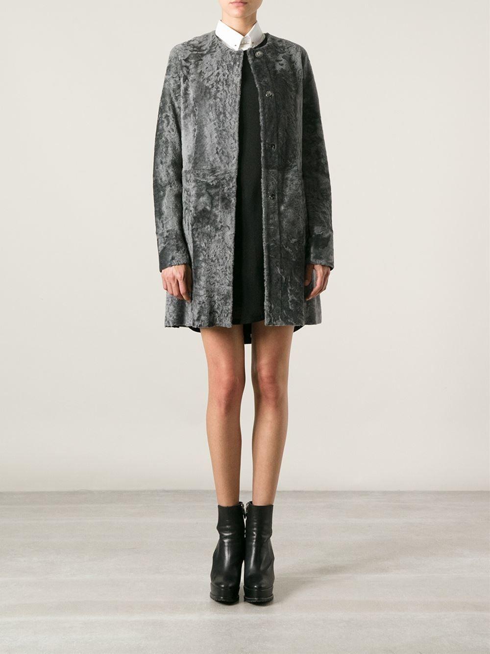 Drome Karakul Overcoat - Dell'oglio - Farfetch.com