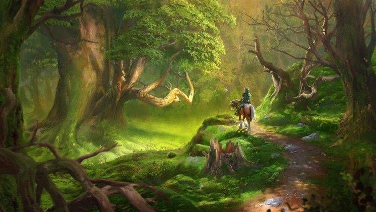 Link, Video Games, The Legend Of Zelda, Forest hd wallpaper