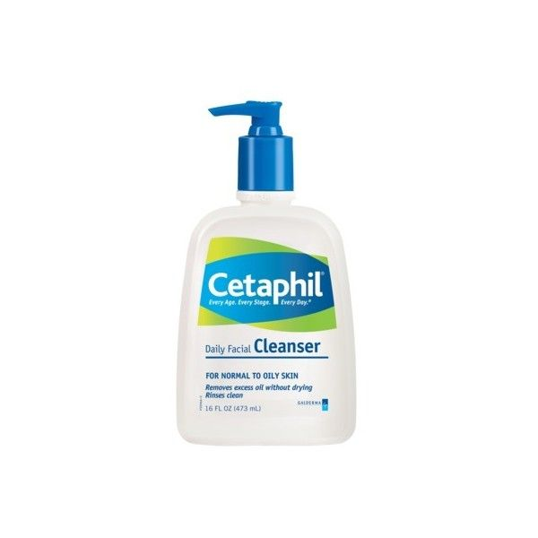 Cetaphil Normal To Oily Skin Daily Facial Cleanser 16 Oz 8 63 Liked On Polyvore Featuring Beauty Products Skincare Face Care Face C Gentle Skin Cleanser