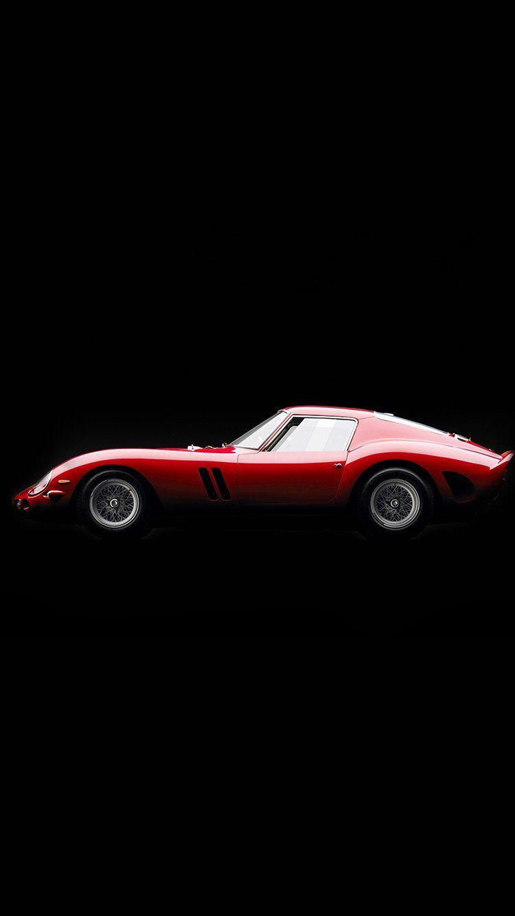 Supercar Red Ferrari 250 Gto Seriesi Illustration Art Wallpaper Hd