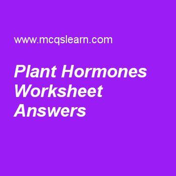 Plant Hormones Worksheet Answers   A level Biology   Pinterest