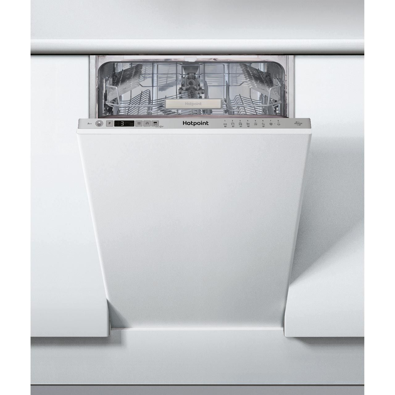 Hsic3t127uk Si Hotpoint Integrated Dishwasher Ao Com Dishwasher Hotpoint Hsic3t12 Integrated Dishwasher Fully Integrated Dishwasher Slimline Dishwasher