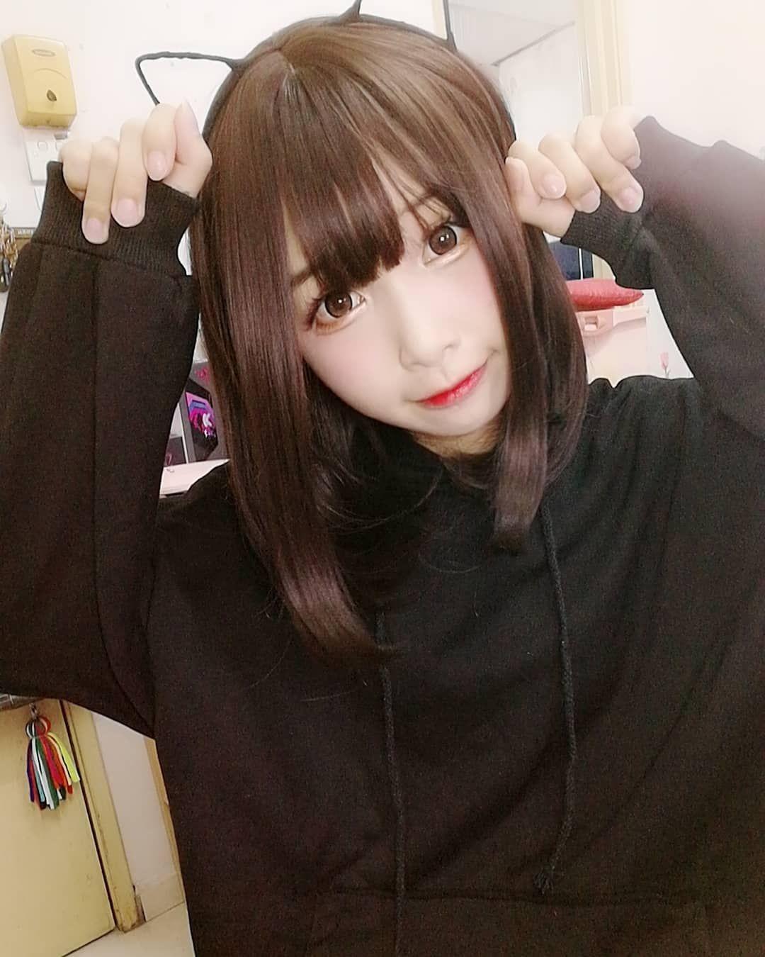 "CN :EBI 刘虾米 on Instagram: ""Menhera chan ♥♥♥♥(●′ω`●)"""