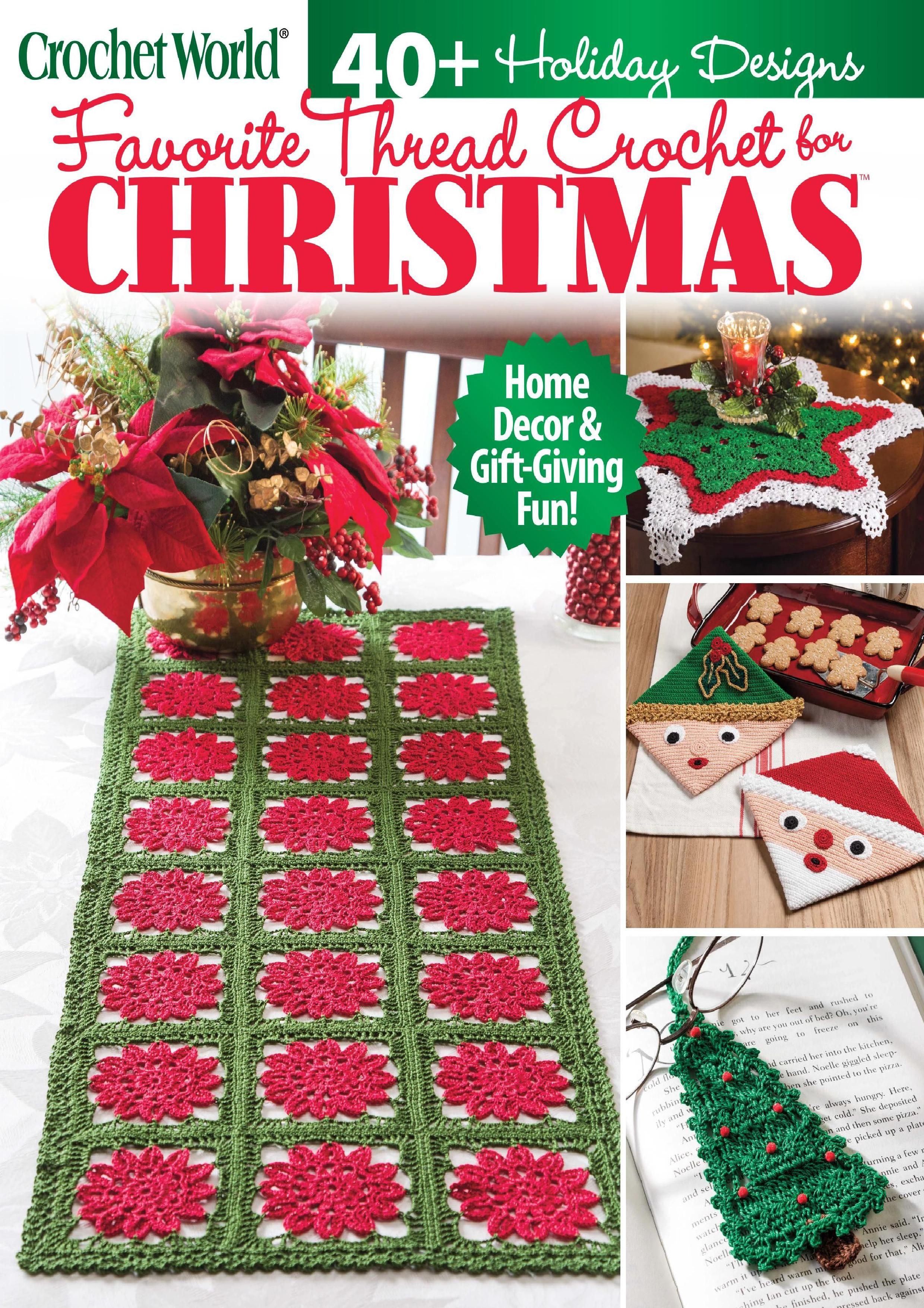 Crochet World 2020 Fall Christmas Download Pdf Magazine In 2020 Holiday Crafts Christmas Crochet World Christmas
