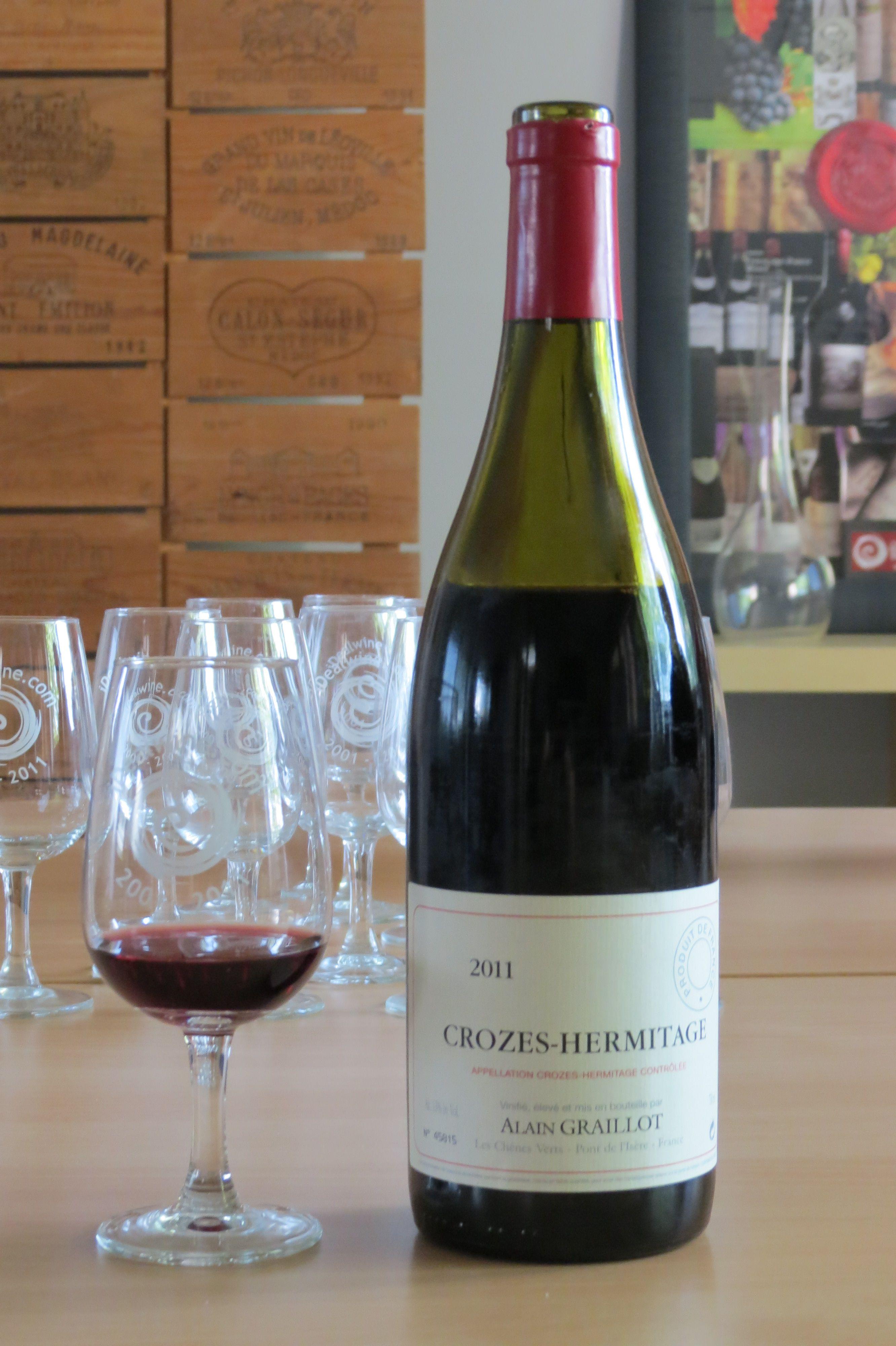 Domaine Alain Graillot Crozes Hermitage 2011 Rouge Http Www Vente Privee Idealwine Com Products Php Ref 221 04 Idealwine Cave A Vin Cepages Bonnes Choses