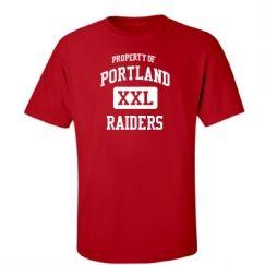 Portland High School - Portland, MI | Men's T-Shirts Start at $21.97