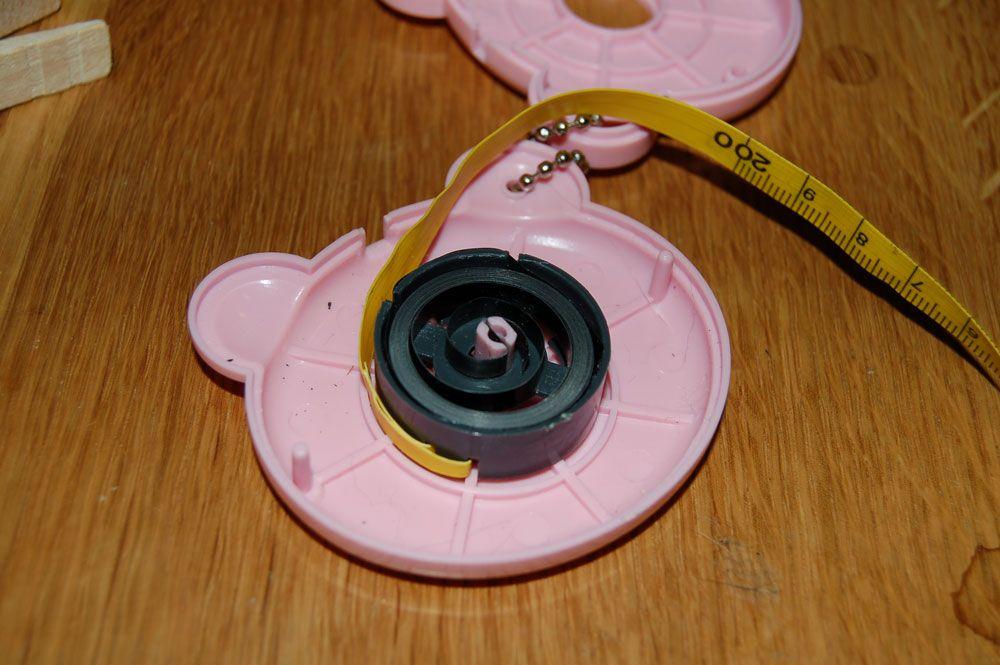 How To Repair Broken Retractable Tape Measure Or Measuring Tape