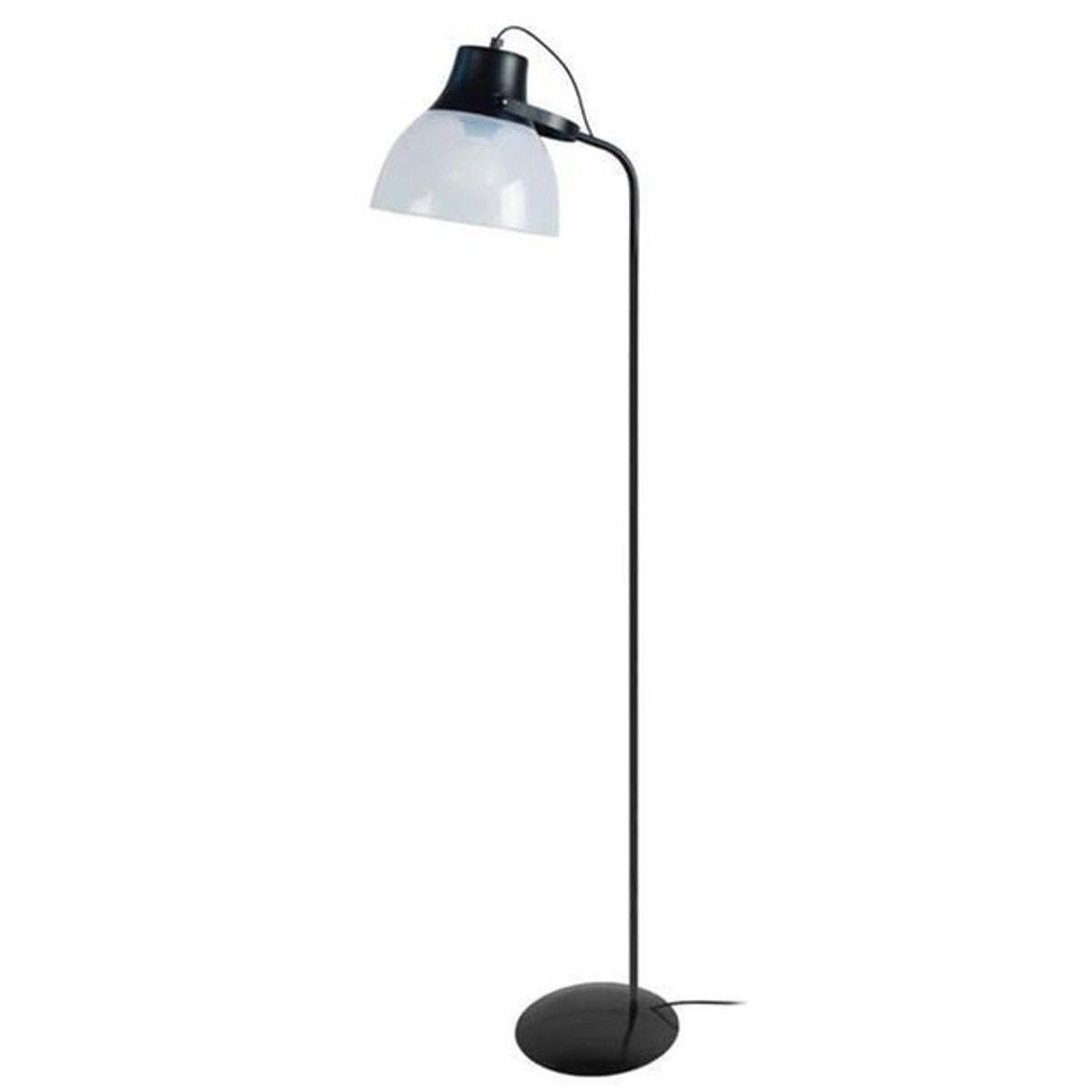 Plexi Lampadaire Liseuse H150cm Noir Taille Taille Unique Lampadaire Liseuse Lampadaire Lampe Sur Pied