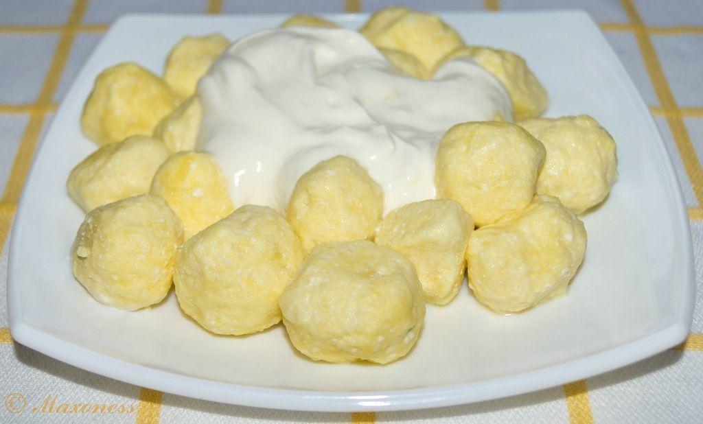 Ленивые вареники с капустой рецепт с фото пошагово