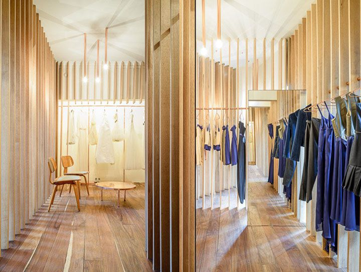 Sandra Weil store by Zeller & Moyein, Mexico City   Mexico fashion