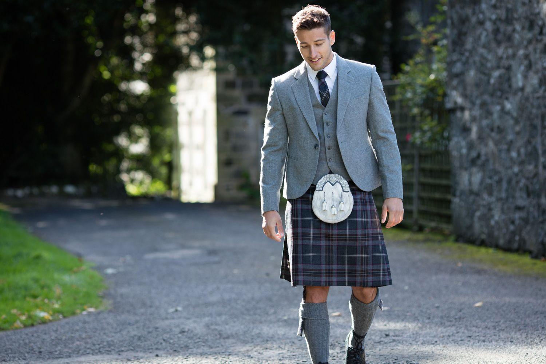 Scottish tartan wedding dress  Graduate in Style u Outfits full of opportunity  Kilts  Pinterest