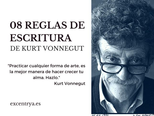 Kurt Vonnegut, Matadero Cinco, Cat's Craddle, escritura, reglas, ayuda, consejos, escribir