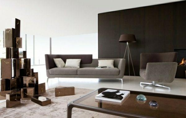 Modern Wohnzimmer Raumgestaltung   Original Layout Und Dekoration
