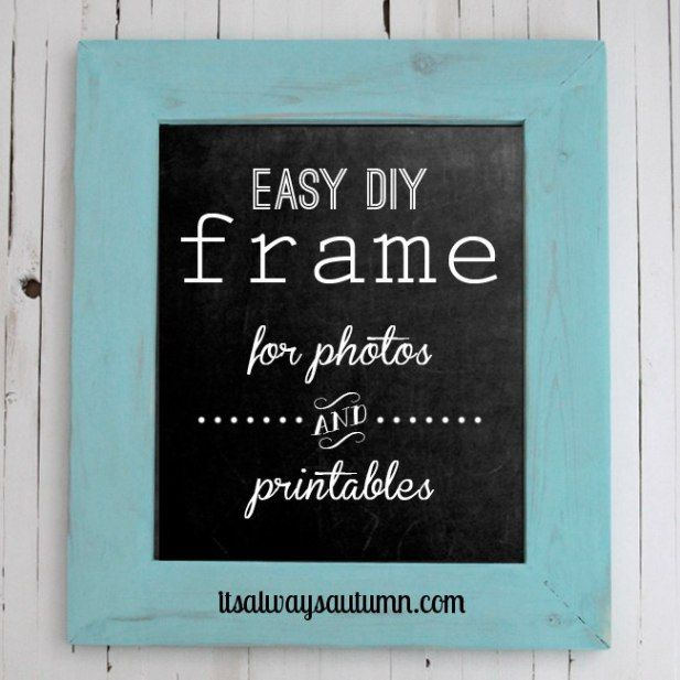 DIY picture frame | Shop Class Projects | Pinterest | Woodworking ...