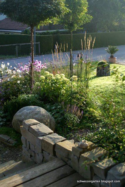 Einen Garten selber planen? - Ein Schweizer Garten Gartenträume - garten anlegen tipps
