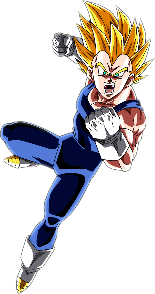 Super Saiyan Vegeta 3 By Brusselthesaiyan Dbz Dragon Ball