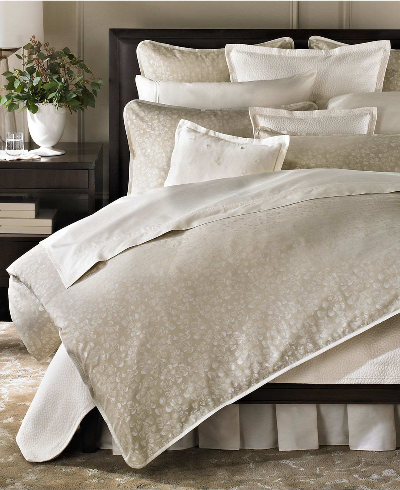 Barbara Barry Bedding Fern Canopy Collection Bedding