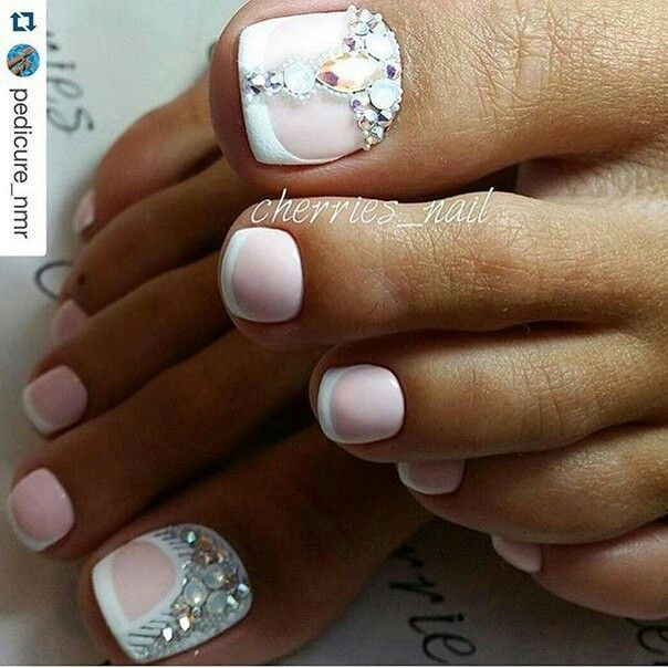 Pin by elis on manicure pinterest pedicures toe nail art nail ideas pedicure ideas pedicure designs toe nail designs nails design my nails french pedicure toe nail art nail nail prinsesfo Choice Image