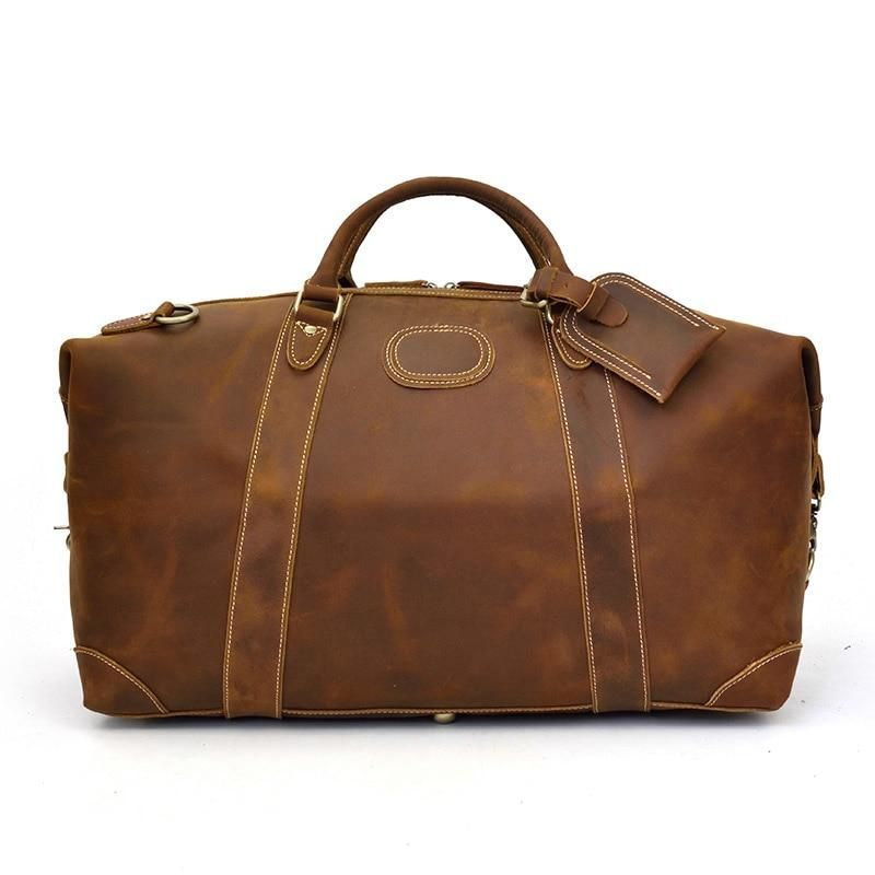Pathfinder Leather Duffle Bag  Dapper  Leather  TravelBag  DuffleBag   OvernightBag  WeekendBag 9c04ea1bf508d