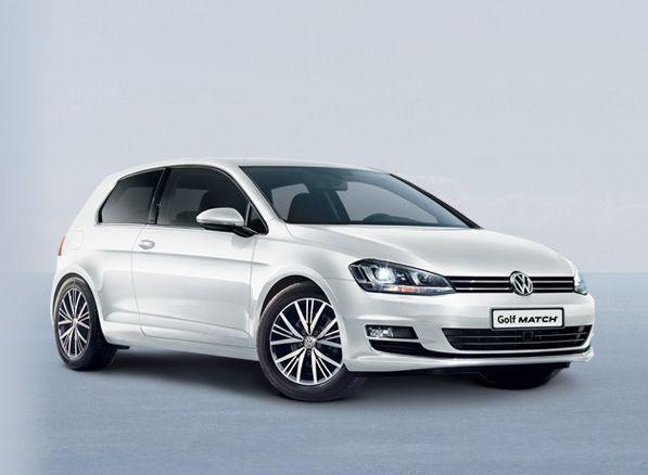 Golf Match Volkswagen offre janvier 2017