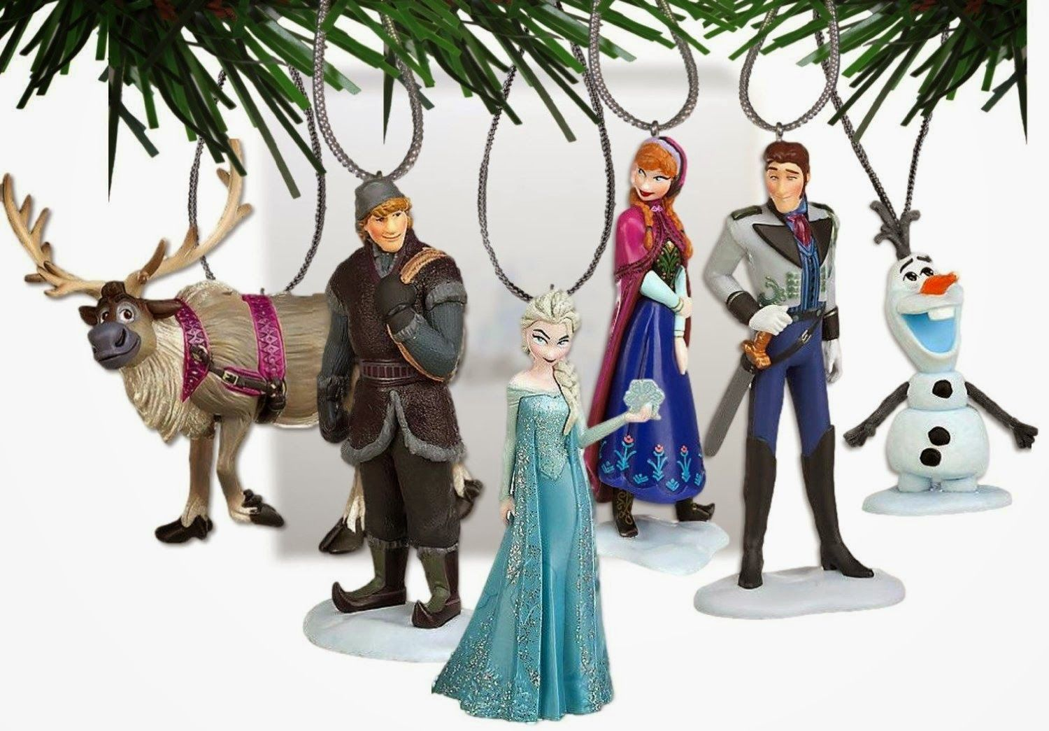 How To Decorate A Frozen Themed Christmas Tree Themed Christmas