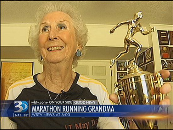 89-year-old marathon runner - WBTV 3 News, Weather, Sports, and Traffic for Charlotte, NC