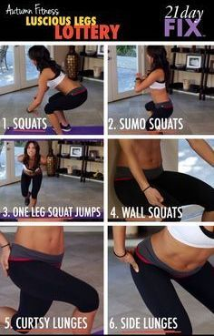 get shapely legs with celebrity fitness trainer autumn
