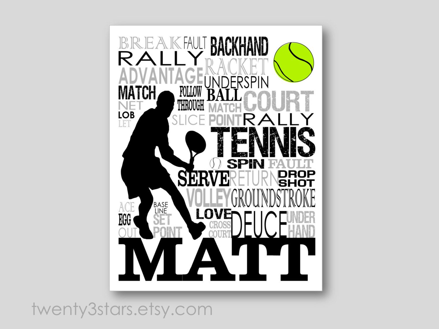 Tennis Typography Poster Boy S Tennis Art Tennis Art Tennis Player Gift Tennis Gift Tennis Team Art Tennis Coach Gift Tennis Poster In 2020 Life Coach Quotes Tennis Gifts Tennis