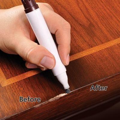 Rejuvenate Wood Furniture And Floor Repair Markers Rj6wm Wood Repair Wood Furniture Furniture Scratches