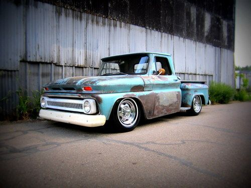 C10 1966 With Images Chevy Stepside Chevy Trucks Classic