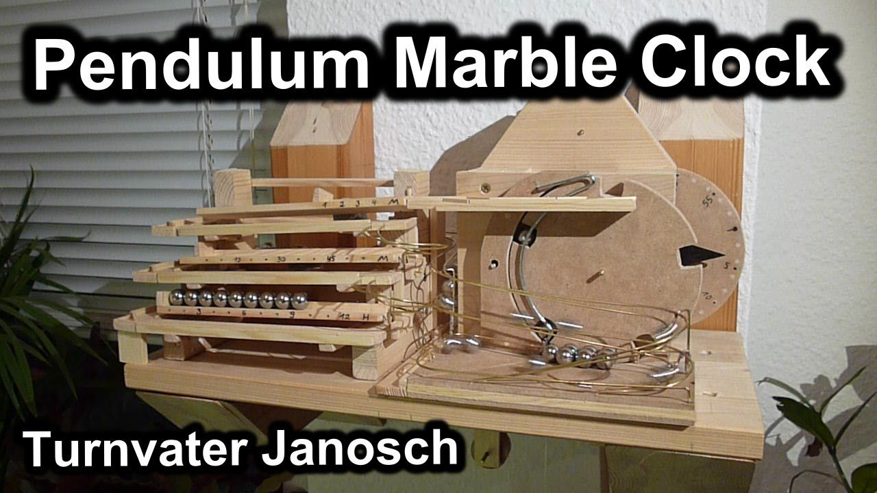 A Curiously Mesmerizing Mechanical Rolling Ball Clock Marble Machine Marble Clock Rolling Ball Sculpture