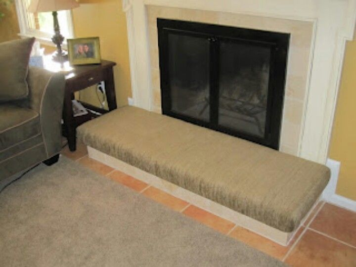 Make your own fireplace hearth cushion and save $$$ | For the Home ...