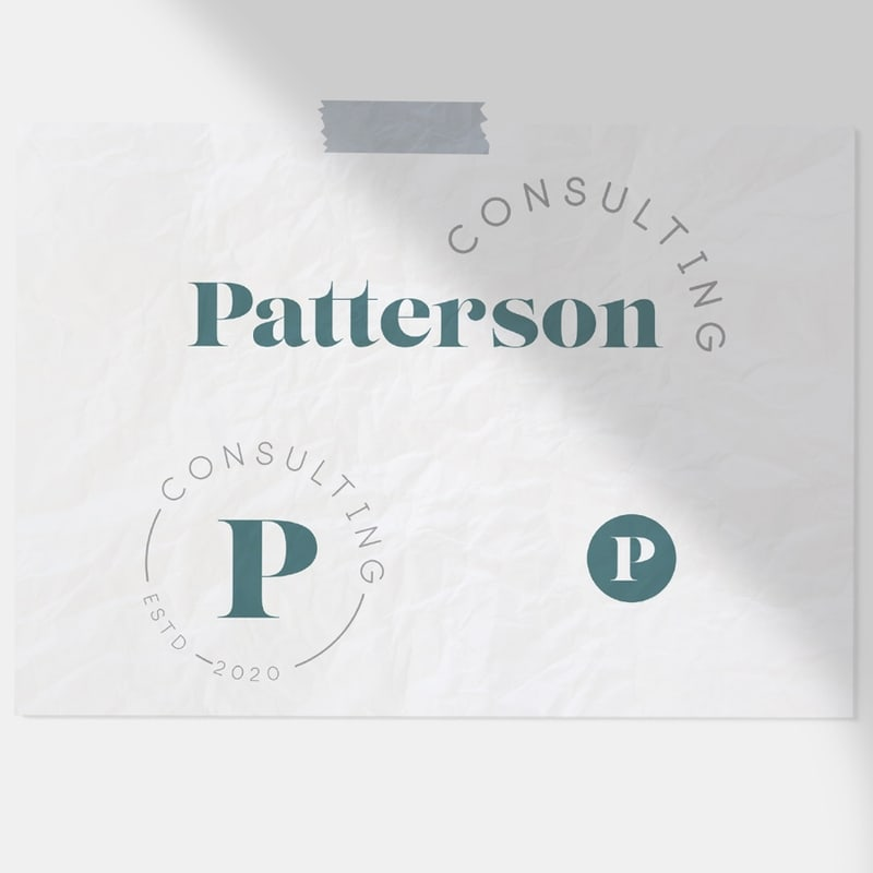 Responsive Logo Design Available Now In Shop And Sold Only Once Monogram Logo Design Logo Design Small Business Branding