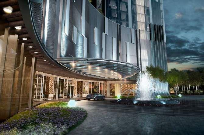 Entrance Guardhouse Condominium Google Search