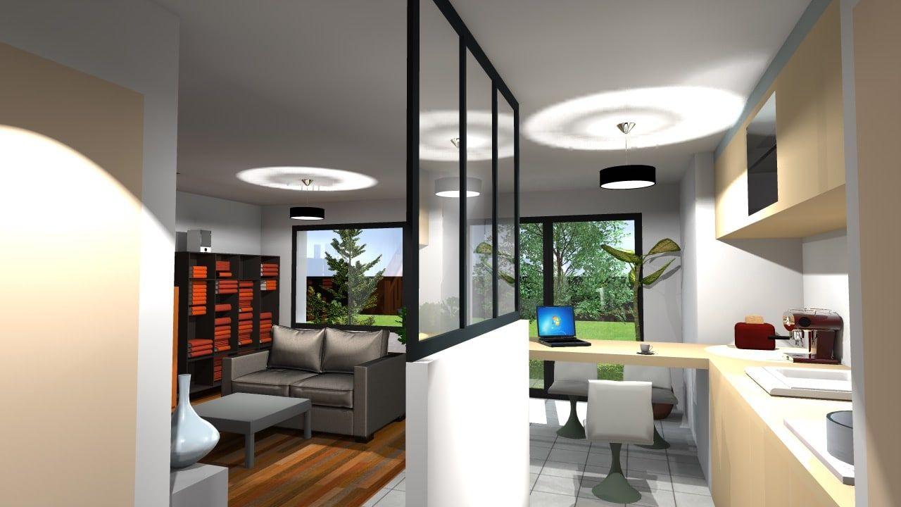 Agréable maison contemporaine à construire vers Dijon, très ...
