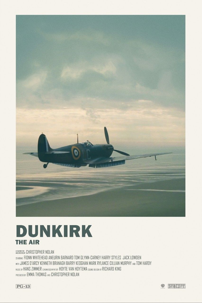 Andrew Sebastian Kwan — Dunkirk alternative movie posters Visit my Store