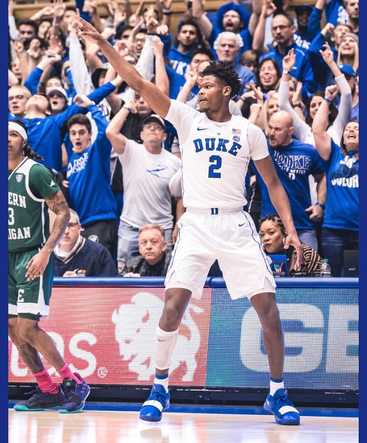 Cam Reddish Duke blue devils, Basketball players, Duke