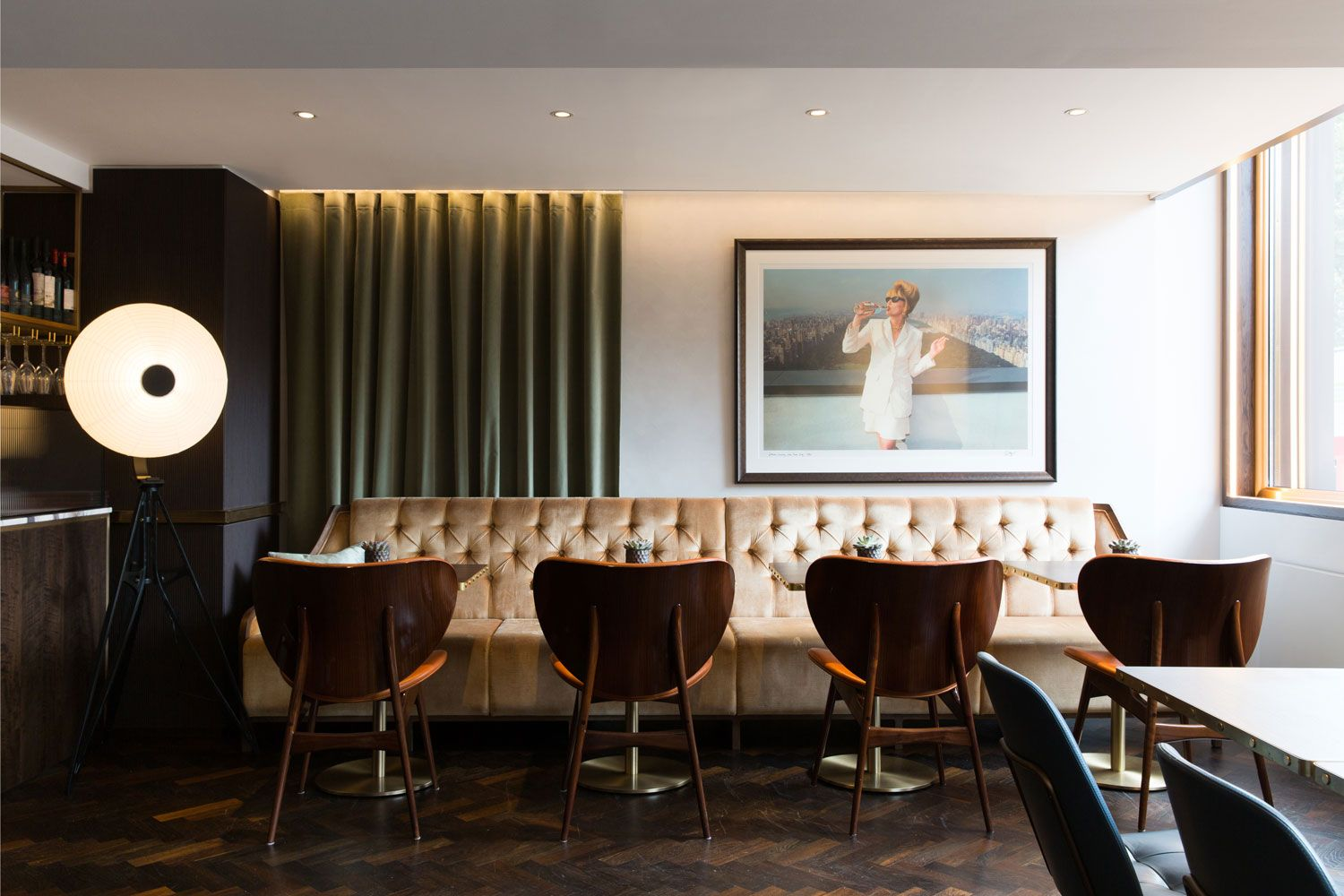 athenaeum hotel residences by kinnersley kent design - Multi Restaurant Design