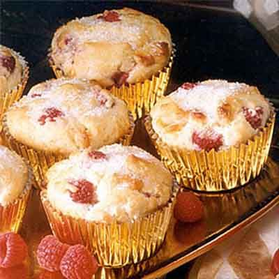 Raspberry White Chocolate Muffins Recipe Raspberry White